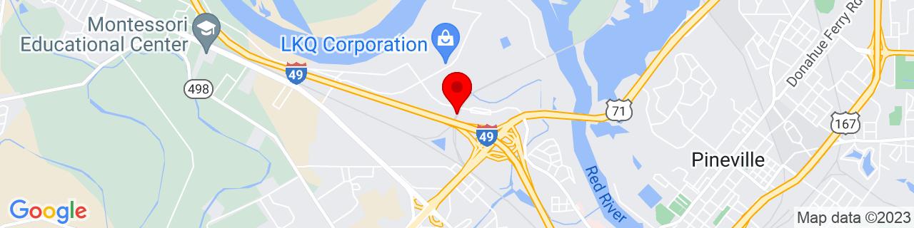 Google Map of 31.3270419, -92.4669284