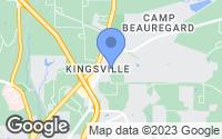 Map of Pineville, LA