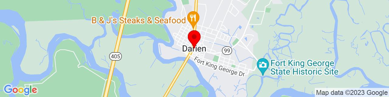 Google Map of 31.3702255, -81.43399029999999