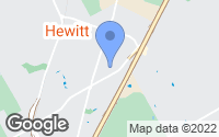 Map of Hewitt, TX