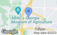 Map of Tifton, GA