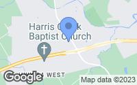 Map of McGregor, TX
