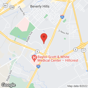 Map of Bed Bath & Beyond at 4633 S Jack Kultgen Expressway, Waco, TX 76706