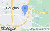 Map of Douglas, GA