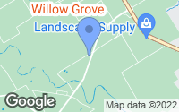 Map of Woodway, TX