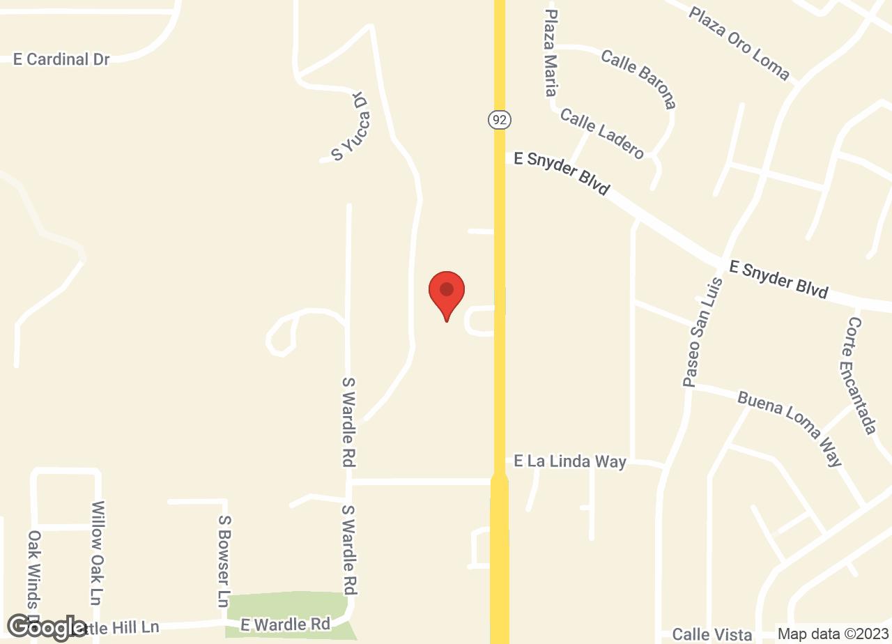 Google Map of VCA Apache Animal Hospital