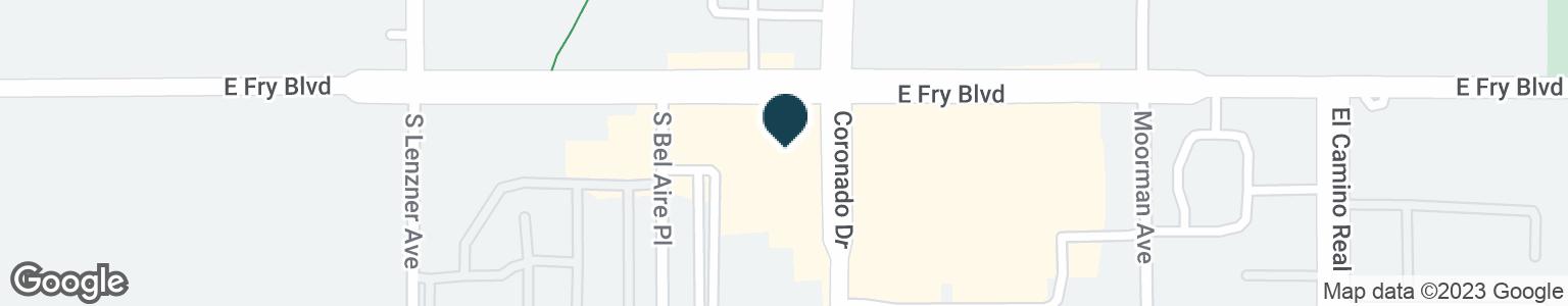 Google Map of1950 E FRY BLVD