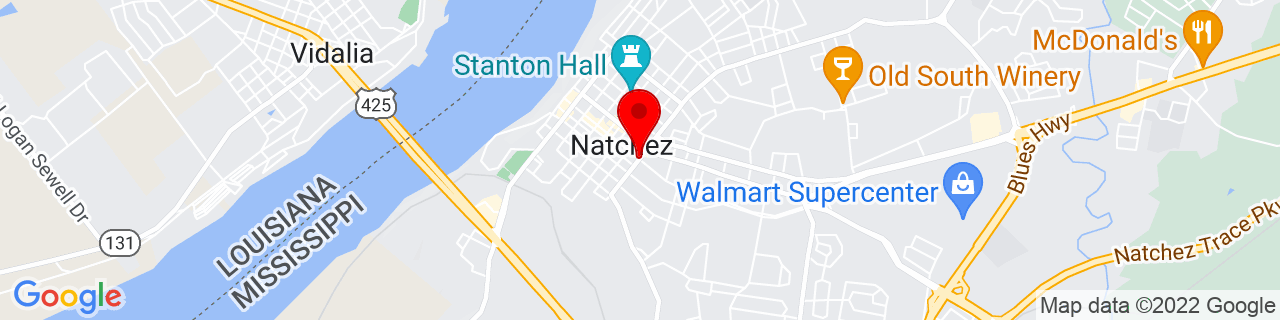 Google Map of 31.5576856, -91.3996111