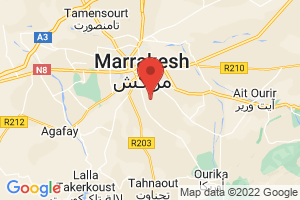 Map of Region de Marrakech-Tensift-Al Haouz