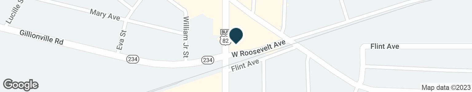 Google Map of300 N SLAPPEY BLVD