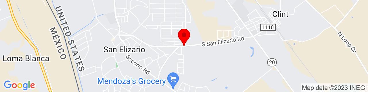 Google Map of 31.5842483, -106.252938