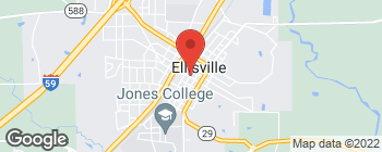 Map of 102 E Pine St in Ellisville