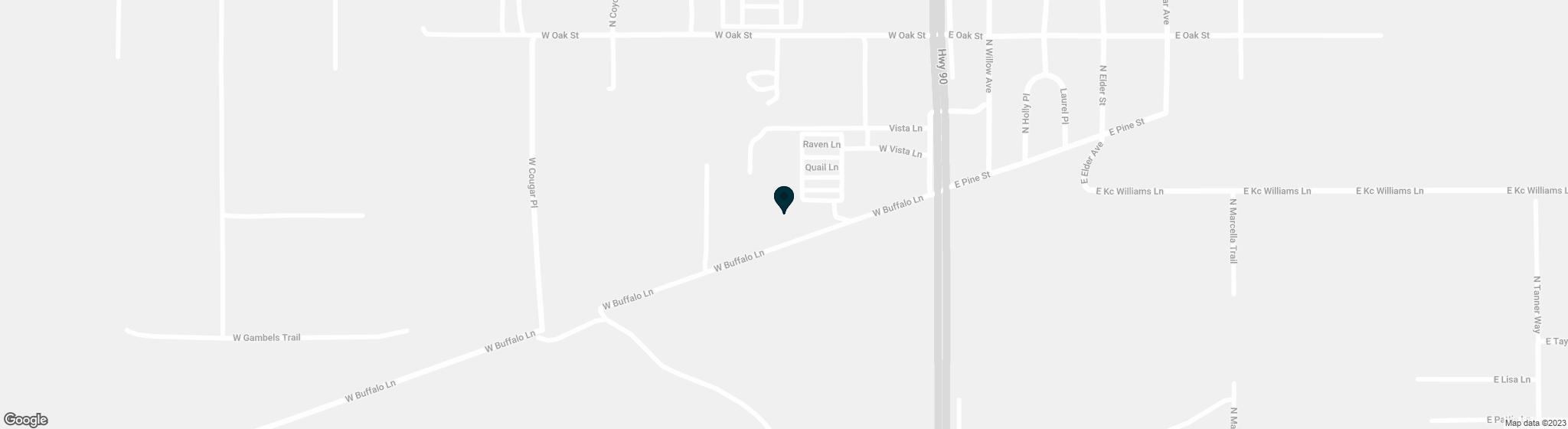 167 W BUFFALO Lane Huachuca City AZ 85616