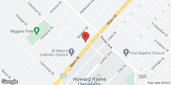 1001 Main Street Brownwood TX 76801