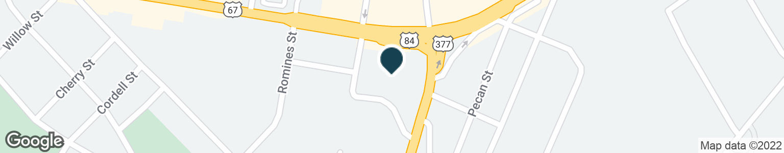 Google Map of200 W COMMERCE ST