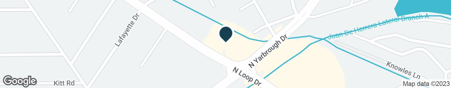 Google Map of8045 N LOOP DR