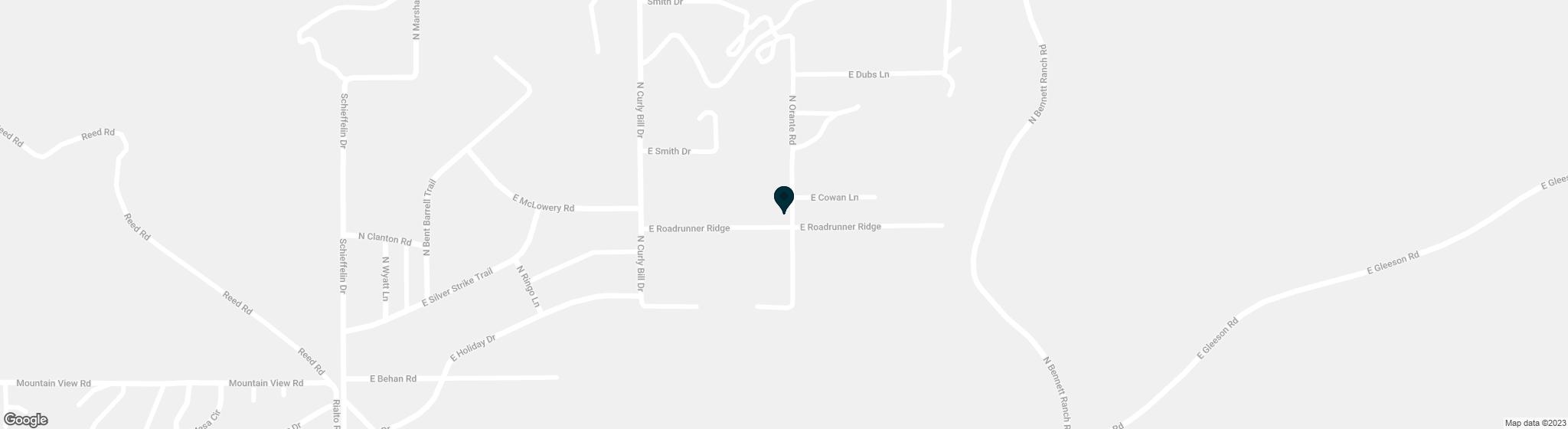 2564 E ROADRUNNER Ridge Tombstone AZ 85638