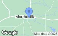 Map of Marthaville, LA