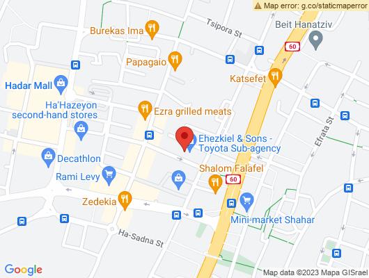 Google Map of מעשה חושב 13 תלפיות, ירושלים