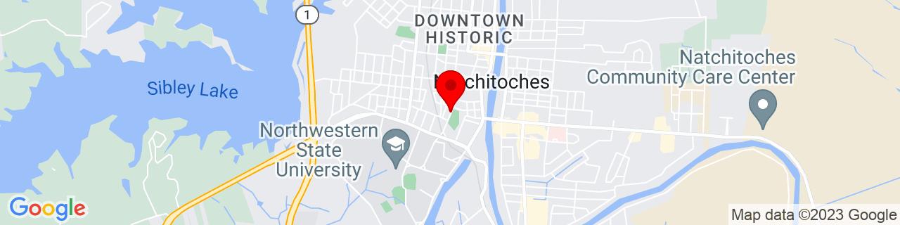 Google Map of 31.7547463, -93.0912011