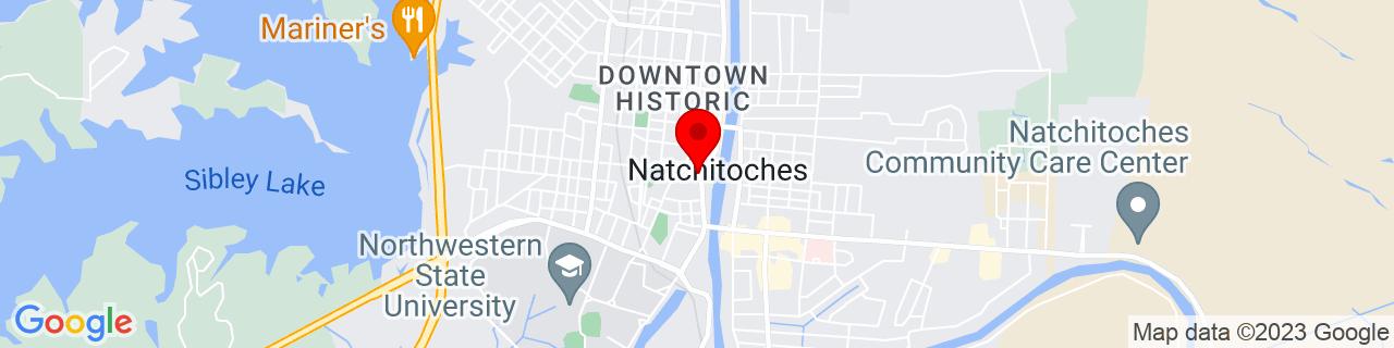 Google Map of 31.7576357, -93.08778749999999