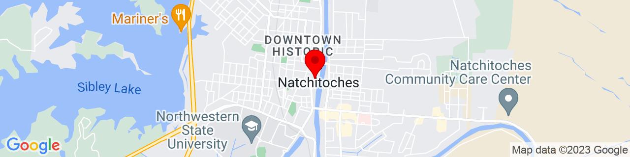 Google Map of 31.758477, -93.08679649999999