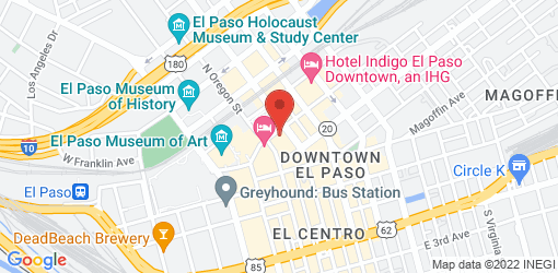 Directions to Lick It Up El Paso