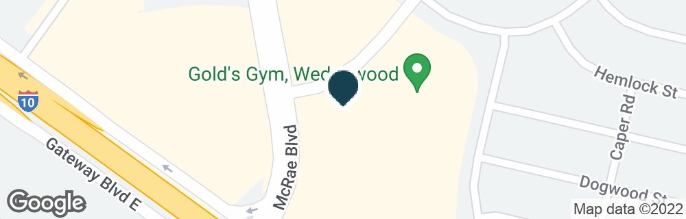 Google Map of1210 WEDGEWOOD DR