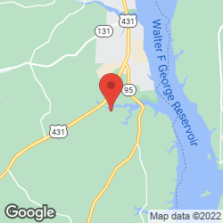 White Oak Shores on the map