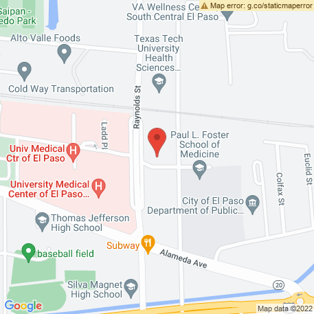 Lift Truck Services on Map (206 Raynolds St, El Paso, TX 79905) Map