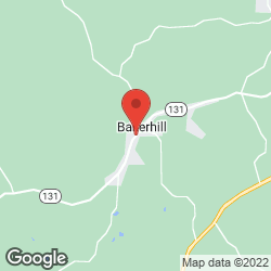 Baker Hill Volunteer Fire Department on the map