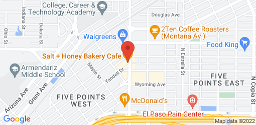 Directions to Salt + Honey Bakery Cafe