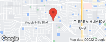 Map of 3010 Saul Kleinfeld Dr in El Paso