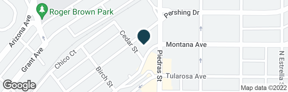 Google Map of2879 MONTANA AVE