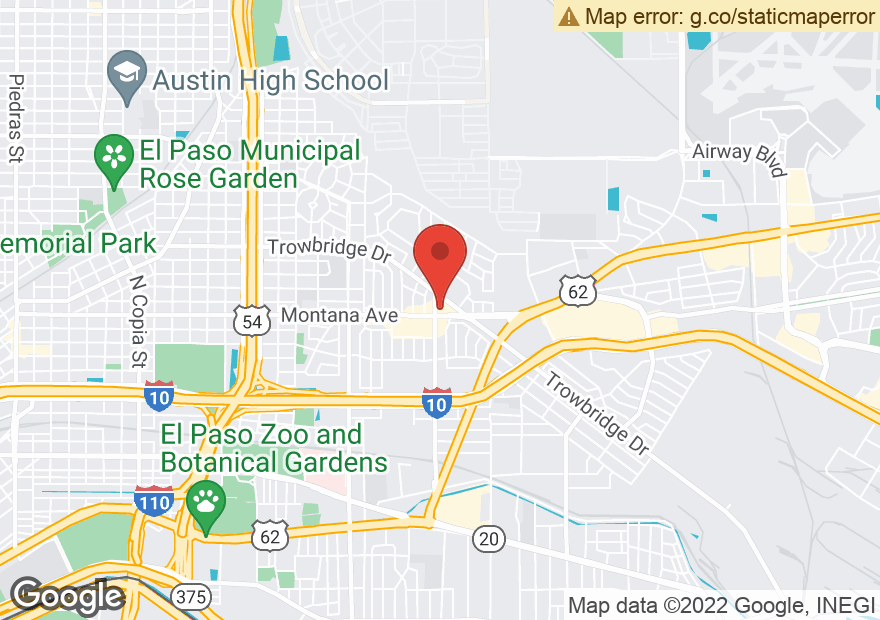 Google Map of 5401 MONTANA AVE