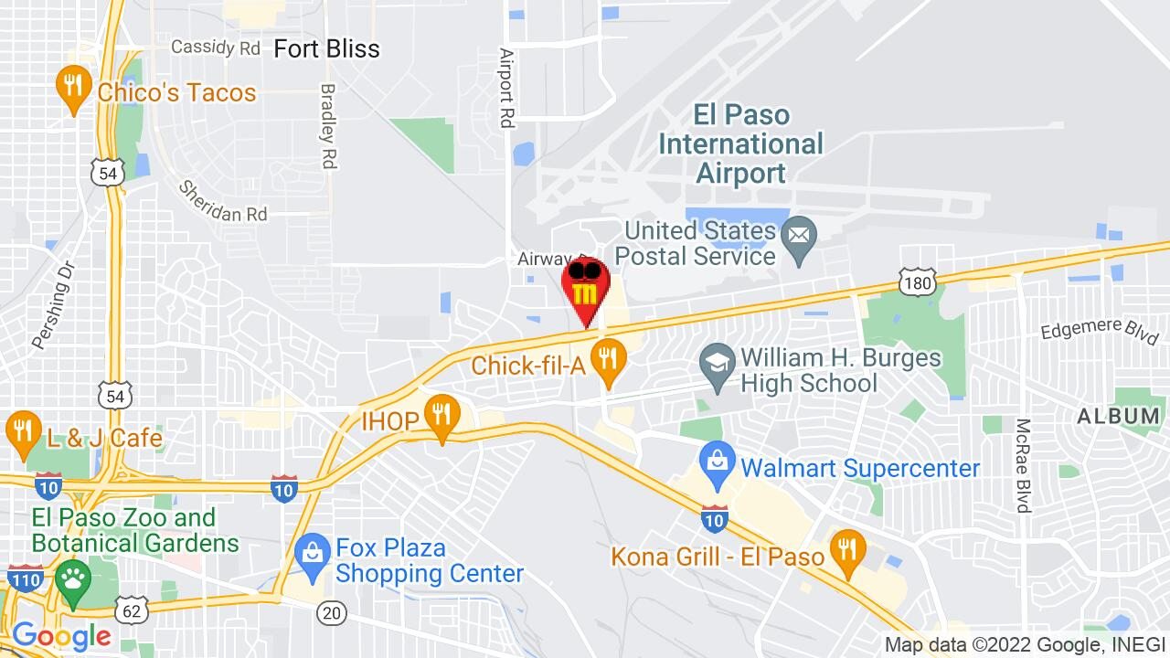 Google Map of El Paso Pest Control