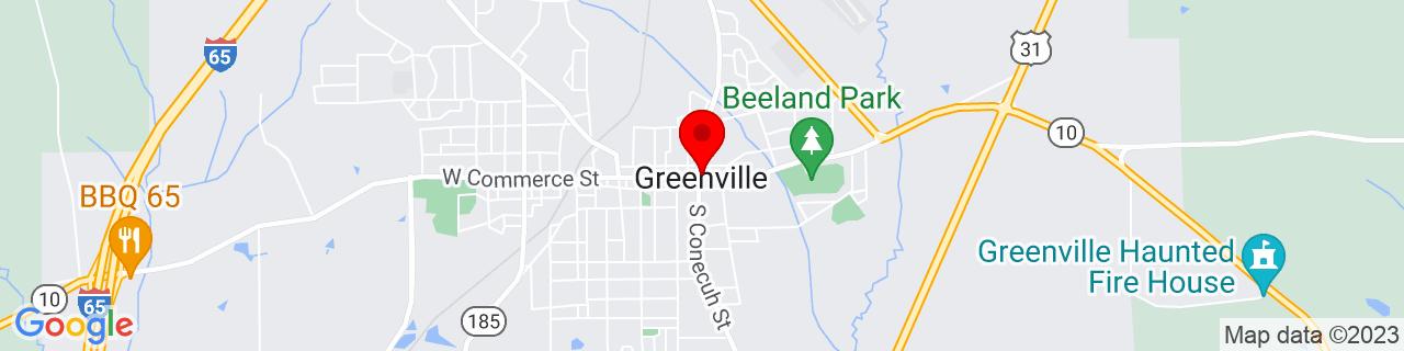 Google Map of 31.829722222222223, -86.61777777777777