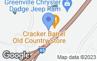 Map of Greenville, AL