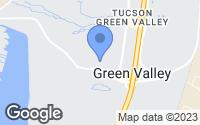 Map of Green Valley, AZ
