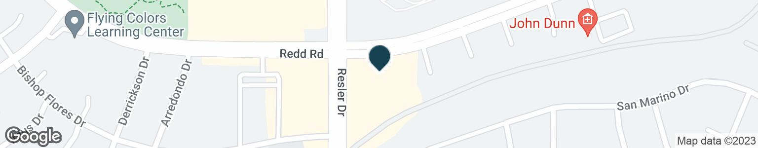 Google Map of890 N RESLER DR