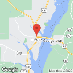 Eufaulas Quilt-N-Sew on the map