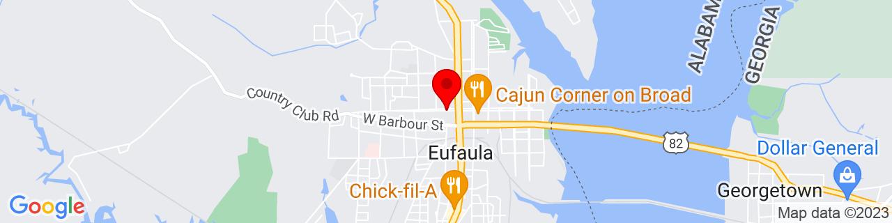 Google Map of 31.89290129999999, -85.1472383