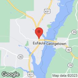 Eufaula Hardware Co. on the map