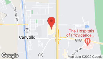 Map of 7051 S Desert Blvd in Canutillo