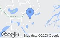 Map of Savannah, GA
