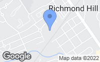 Map of Richmond Hill, GA
