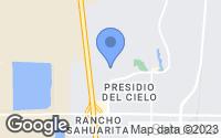 Map of Sahuarita, AZ