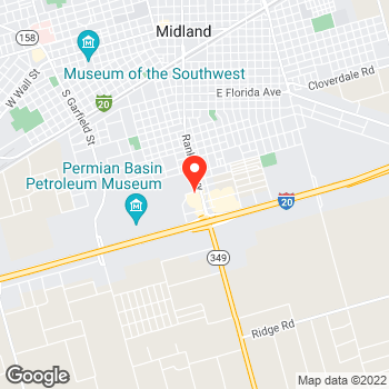 Map of Pizza in Midland, TX – Cicis Pizza at 2106 Rankin Hwy, Midland, TX 79701