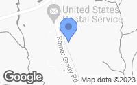 Map of Grady, AL