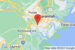 Map of Savannah Area